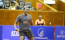 Table Tennis: Congo's Saheed Idowu ranked 7th in Africa