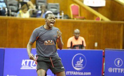Table Tennis: Congo's Saheed Idowu ranked 7th in Africa