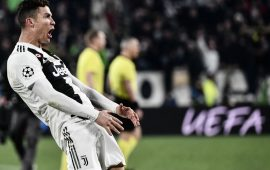 UCL: Ronaldo equals Messi's Champions League record