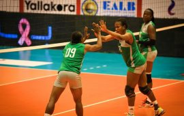 Volleyball: GSP Algeria stop Nigeria Customs in Q/Finals