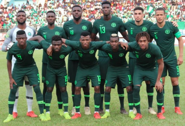 FIFA Ranking: Nigeria move up to third in Africa