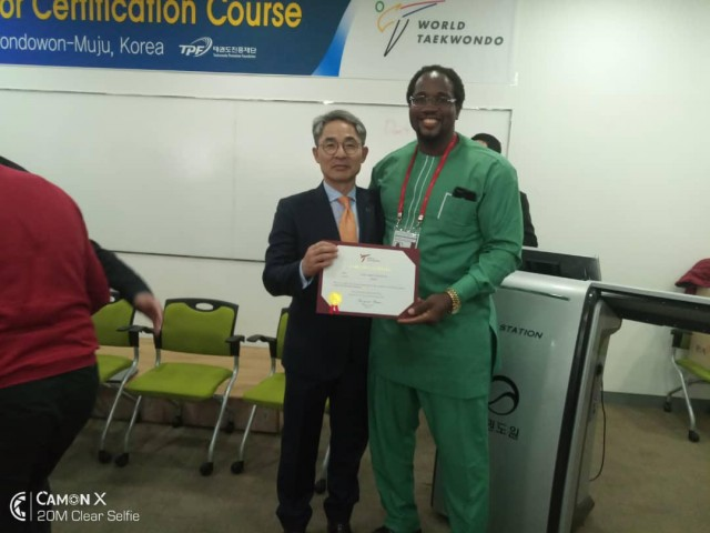 Chukwumerije becomes World Taekwondo global educator