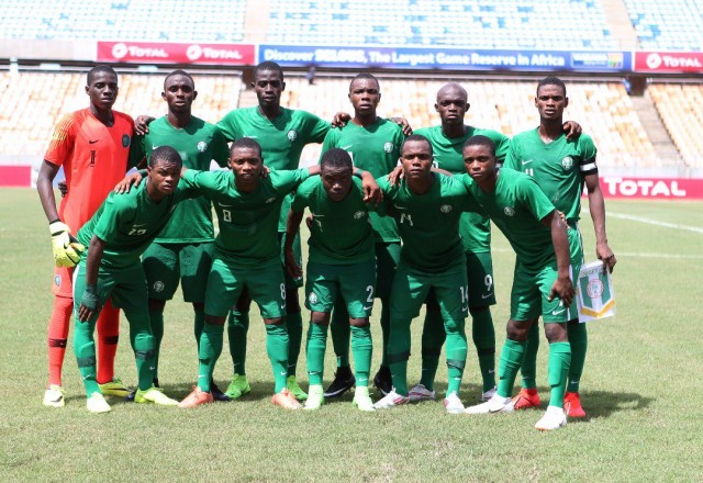 TOTALAFCONU17: Golden Eaglets book World Cup ticket