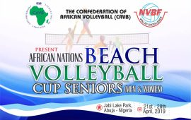 Nigeria ready to host Africa Beach Volleyball – Musa Nimrod
