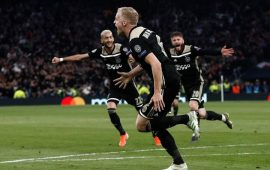 UCL Semifinal: Ajax draw first blood with the away win