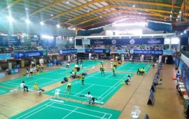 Team Nigeria defeat South Africa at Africa Badminton C'Ships