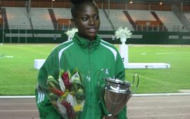 Triple gold medallist Chukwuka best athlete at CAA Abidjan