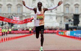 Kenyan Eliud Kipchoge wins London Marathon