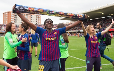 Oshoala Barcelona make history, Ordega reaches Cup final