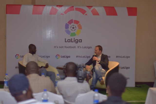 LaLiga Nigeria: Sid Lowe engages Nigerian media on LaLiga