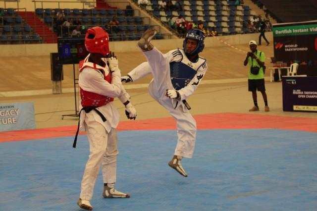 Nigerians support Taekwondo athletes ahead of President Cup