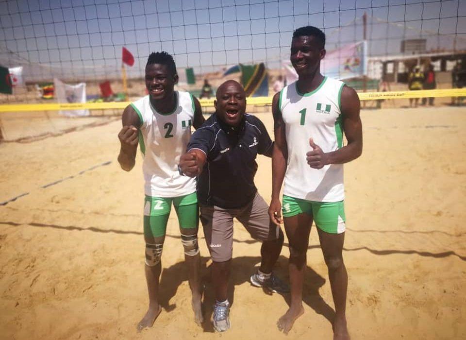 Nigeria takes third at U21 Beach Volleyball championship