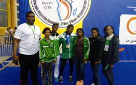 Nigeria lifters rake in 9 gold medals at Africa Championships