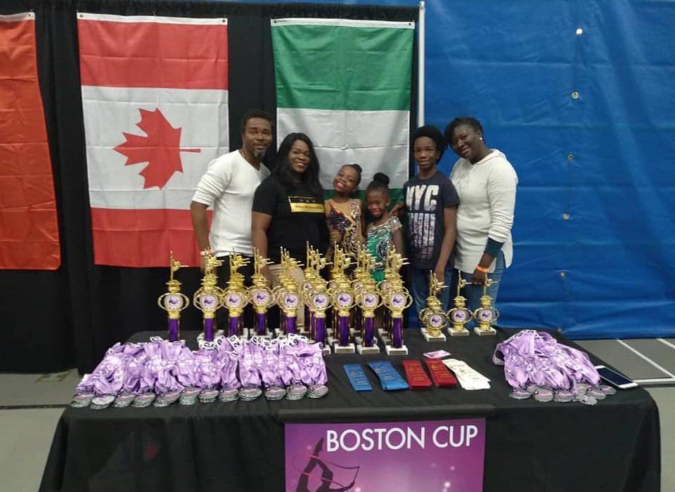 Gymnastics: Oluwateniola, Jedidiah dazzle at Boston Cup