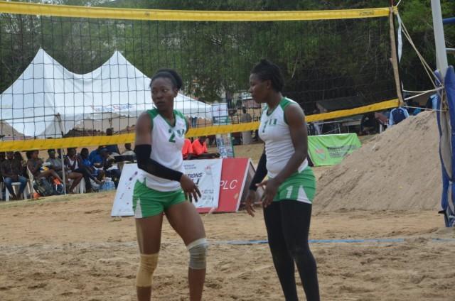 Nigeria Female Beach Volleyball team clinch World Cup ticket