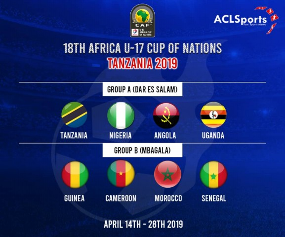 U17AFCON: Nigeria's Golden Eaglets begin African campaign