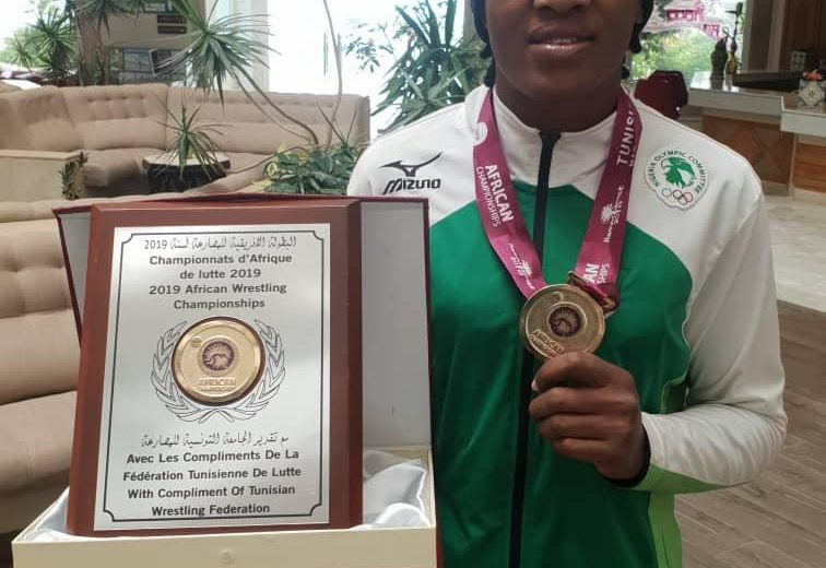 2019 AWC: Odunayo Adekuoroye named best female Wrestler