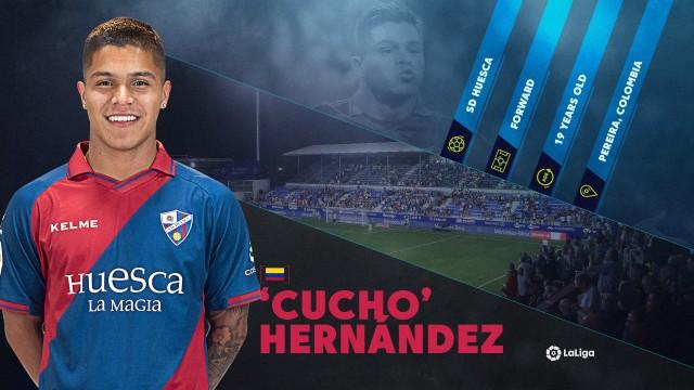 LaLiga Rising Star: Huesca's prolific teenager Cucho