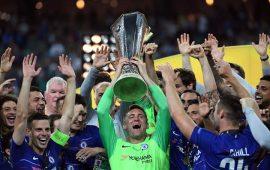 Europa Lge final: Chelsea hand Iwobi's Arsenal a dress down