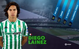 LaLiga Rising Star: Real Betis' Diego Lainez tipped to break-out