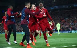 UCL Semi-final: Liverpool stun Barcelona to reach final