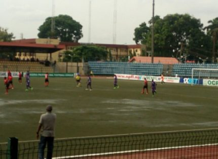 NPFL Match at Agege Stadium