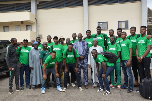Volleyball: Nigeria depart for All Africa Games Qualifiers