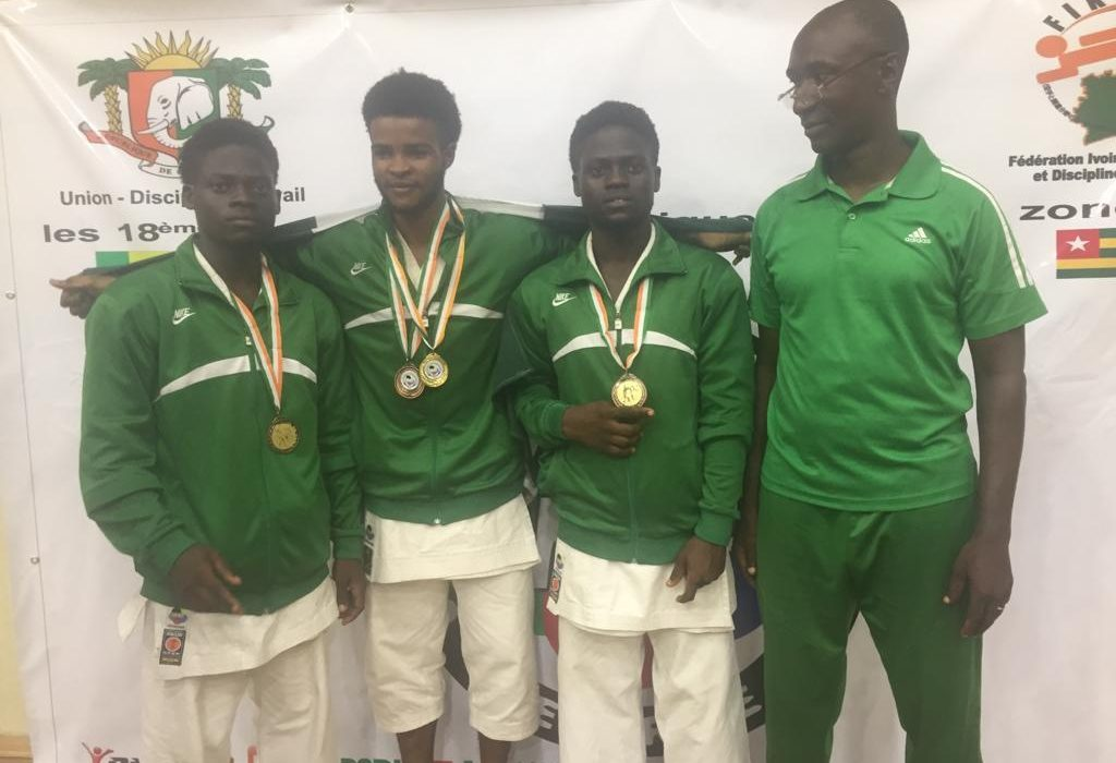 Karate: Team Nigeria dazzle in Abidjan