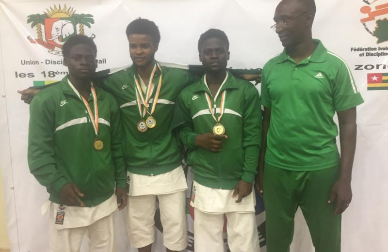 Karate: Team Nigeria dazzle in Abidjan