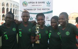 Nigeria whitewash Niger 15-0 in WAFU Women's