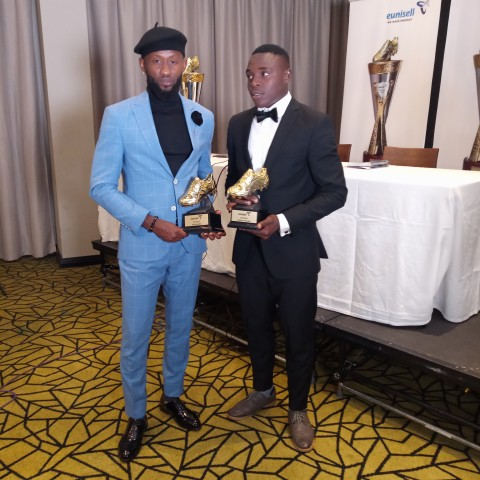 NPFL: Eunisell rewards Ibrahim, Udoh with topscorer prize