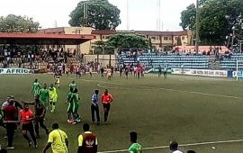 NPFL19Playoffs: Pillars disrupt MD4, lose top spot to Enyimba