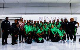 FIFAWWC: Super Falcons arrive France, ready to go!