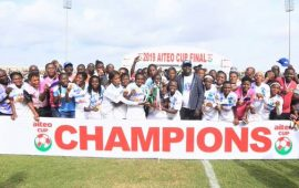 AITEO CUP: Nasarawa Amazons dethrone Rivers Angels