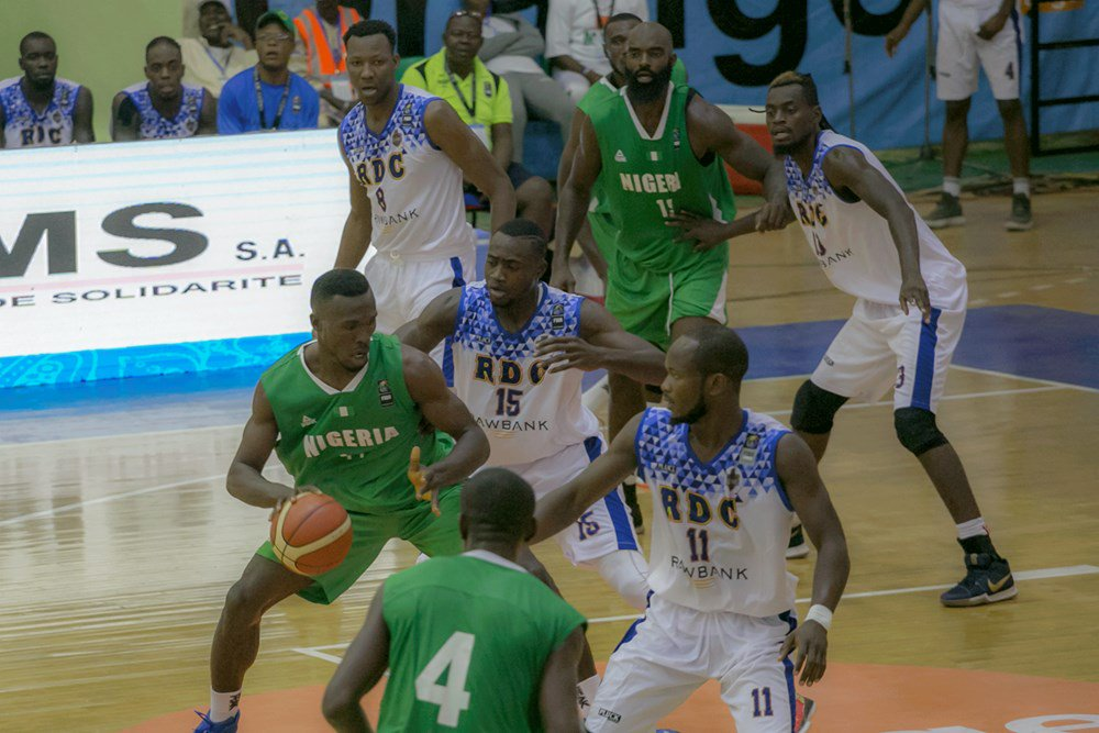 FIBA AfroCan: Nigeria in overwhelming defeat to DRC