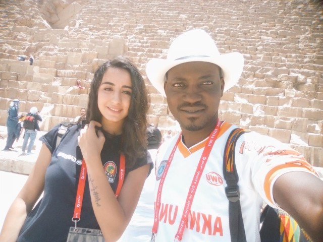 AFCON Diary 7&8: Egypt: From free kiss to don't touch!