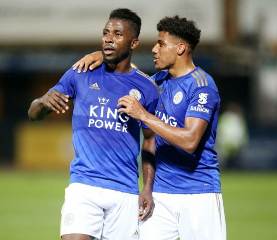 Forgotten Super Eagle Iheanacho fires Leicester to victory