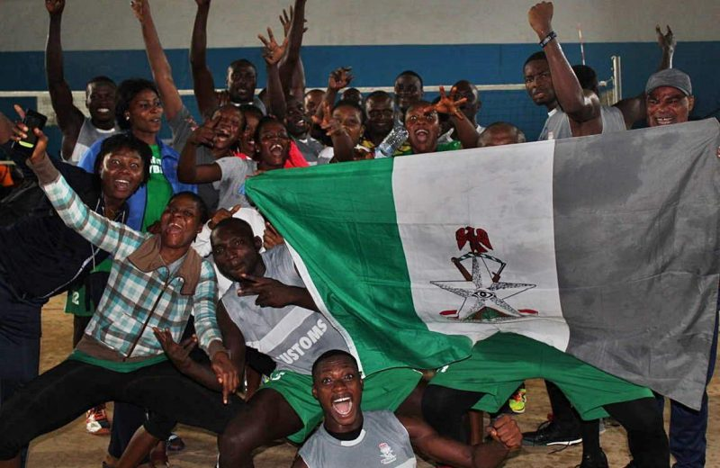 Nigeria V/Ball League: Customs, NSCDC finish top at the end of 1st Phase