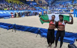 Nimrod commends Team at World Beach V/Ball C'Ship