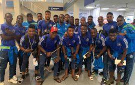 CAFCL: Enyimba land in Ouagadougou for Rahimo test
