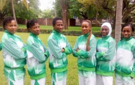 African Games: Nigeria Taekwondo Federation final team