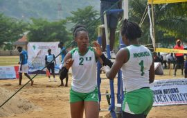2019AG: Nigeria thrash Benin Republic in b/volleyball