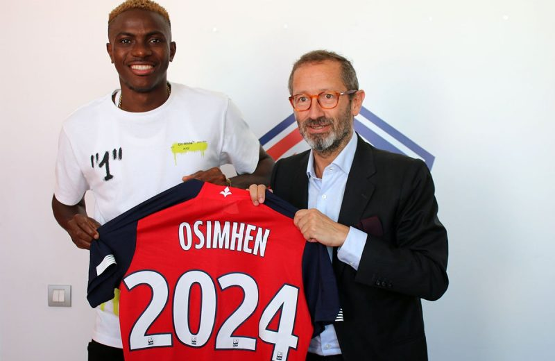 Ligue 1: Victor Osimhen seals record transfer to Lille